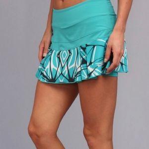 Nike Victory Pleated Printed Tennis Skort NWT XS